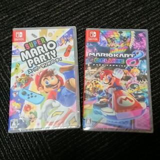 Nintendo Switch - 新品 マリオカート8 マリオパーティ