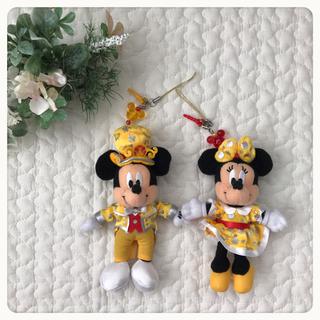 ディズニー(Disney)のディズニー30周年記念ストラップ(ストラップ/イヤホンジャック)