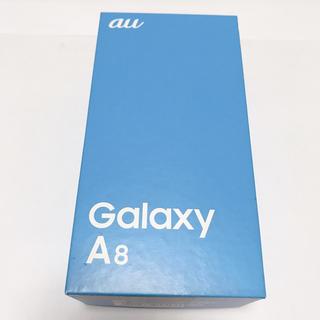 サムスン(SAMSUNG)のGALAXY A8(スマートフォン本体)