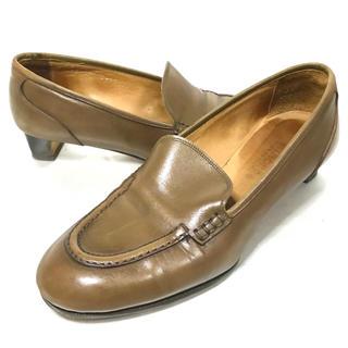 トッズ(TOD'S)のHIROFU ローファー パンプス 22cm レザー 本革 革靴 レディース(ハイヒール/パンプス)