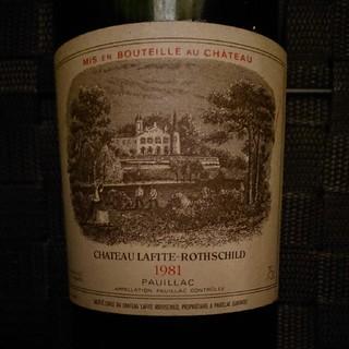 Touriga様専用 シャトーラフィットロートシルト 1981年 (ワイン)
