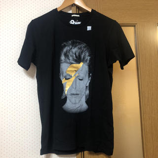 ジーユー(GU)のDavid Bowie ロックTシャツ(Tシャツ/カットソー(半袖/袖なし))