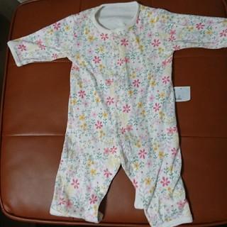 ユニクロ(UNIQLO)のユニクロ ロンパース 60 新生児 女の子(ロンパース)