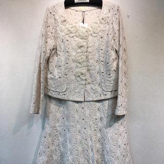 ベルパーチ  スーツサイズ3号  色は綺麗なピンクベージュ(スーツ)