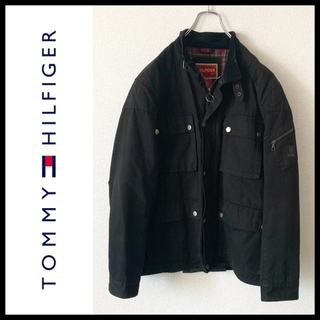 トミーヒルフィガー(TOMMY HILFIGER)のTOMMY HILFIGER ミリタリージャケット M-65 赤タグ(ミリタリージャケット)