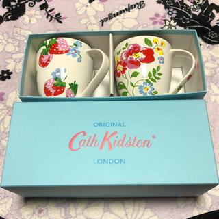 キャスキッドソン(Cath Kidston)のキャスキッドソンペアコップ(グラス/カップ)
