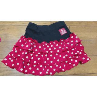 ニシマツヤ(西松屋)のドットスカート♡ 水玉♡フリルスカート(スカート)