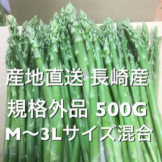 長崎産アスパラガス 規格外 500G(野菜)