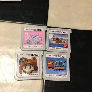 ニンテンドー3DS(ニンテンドー3DS)の3DS ソフト 4本セット 交渉可能 (携帯用ゲームソフト)