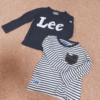 リー(Lee)のLee ロンT 二枚セット 100センチ(Tシャツ/カットソー)
