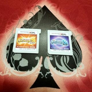 ニンテンドー3DS(ニンテンドー3DS)の3DS ポケモン サン ムーン 【初期化済み】(携帯用ゲームソフト)