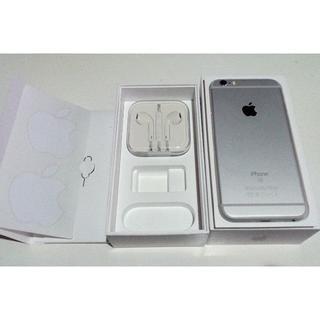 アイフォーン(iPhone)の【SIMフリー】iPhone 6s 32 GB シルバー(スマートフォン本体)