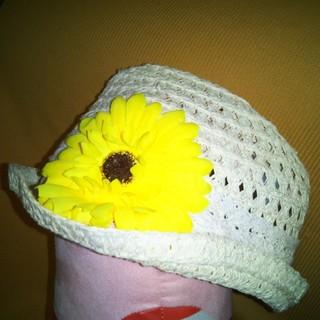 シマムラ(しまむら)の女の子 帽子 52cm(帽子)