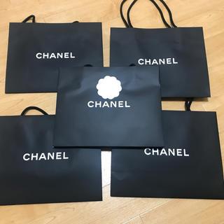 シャネル(CHANEL)のシャネル ショップ袋カメリア付き×1 カメリアなし×4(ショップ袋)