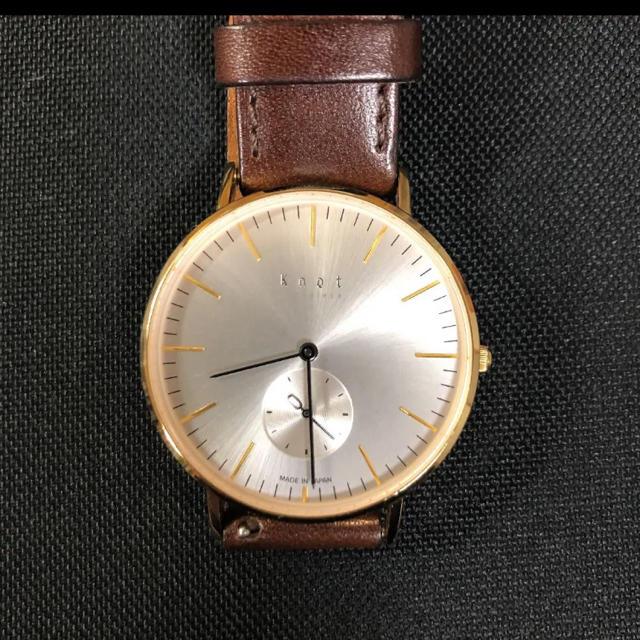 Knot/not(ノットノット)のknot 腕時計 メンズの時計(その他)の商品写真