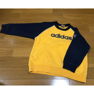 アディダス(adidas)のアディダスkids トレーナー 120㌢(Tシャツ/カットソー)