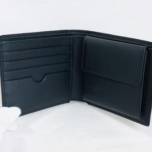 brand new f11bb b2362 LOEWE ロエベ メンズ 折り財布 503027682 ブラック 黒