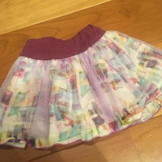 アナスイミニ(ANNA SUI mini)のアナスイ スカート 100センチ(スカート)