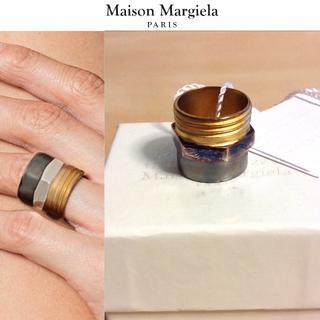 マルタンマルジェラ(Maison Martin Margiela)の新品■L■マルジェラ■17aw■ナットボルトコンビリング■指輪■5774(リング(指輪))