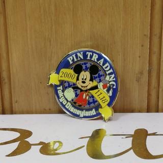 ディズニー(Disney)の非売品/レア★ピンバッチ★2000年ミッキーマウス誕生日(その他)