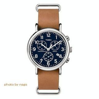 タイメックス(TIMEX)のTIMEX Weekender         Chronograph blue(腕時計(アナログ))