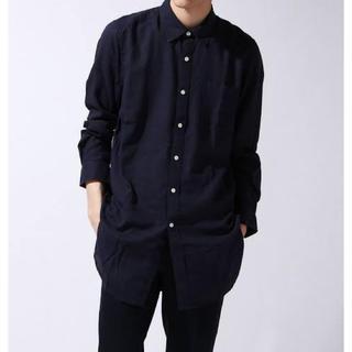 ウィゴー(WEGO)のWEGO*フレンチリネンMIXロングシャツ(シャツ)