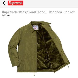 シュプリーム(Supreme)のsupreme label champion coaches jacket (ナイロンジャケット)