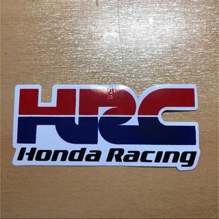 ホンダ(ホンダ)のジャンク品 ホンダレーシング HRC Moto GP ロードレースステッカー ①(ステッカー)