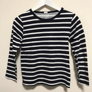 ジーユー(GU)の★GU★ボーダー長袖Tシャツ★140★ロンT(Tシャツ/カットソー)