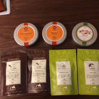 ルピシア(LUPICIA)の新品未開封!ルピシア フレーバーティーセット(茶)