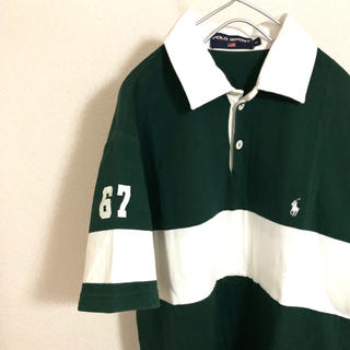 ラルフローレン(Ralph Lauren)のポロスポーツ ポロシャツ 90s 80s(ポロシャツ)