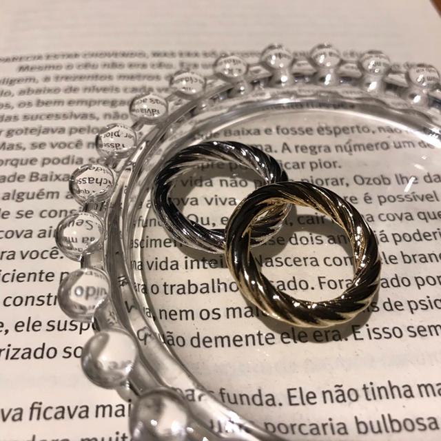 UNITED ARROWS(ユナイテッドアローズ)のゴールド シルバーリング レディースのアクセサリー(リング(指輪))の商品写真