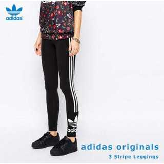 アディダス(adidas)のadidas originals スキニー ラインレギンス レギンス S(レギンス/スパッツ)