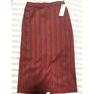 ジーユー(GU)の【新品】GU スカート(ひざ丈スカート)