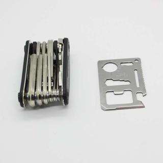 自転車工具セット 携帯マルチツール 六角レンチ 多機能 携帯(工具/メンテナンス)