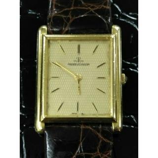 ジャガールクルト(Jaeger-LeCoultre)の名門 ジャガールクルトK18金無垢 金時計 手巻き アンティーク スイス製(腕時計(アナログ))