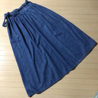 ジーユー(GU)のロングスカート(ロングスカート)
