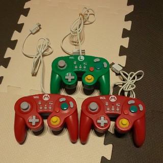 ウィーユー(Wii U)のWii u   ホリ クラシックコントローラー(家庭用ゲーム本体)
