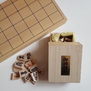 【美品】将棋盤&駒セット(囲碁/将棋)