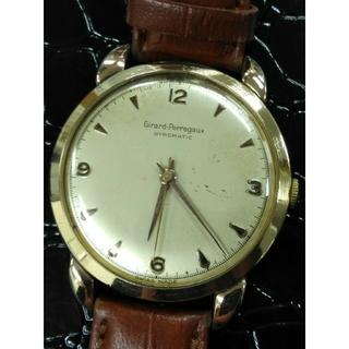 ジラールペルゴ(GIRARD-PERREGAUX)の名門 ジラールペルゴ ジャイロマティック 金張り 自動巻 アンティーク スイス(腕時計(アナログ))