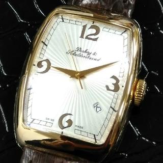 ダービーアンドシャルデンブラン(Dubey & Schaldenbrand)の美品 ダービー&シャルデンブラン セレブリティK18金時計 定価約100万円(腕時計(アナログ))