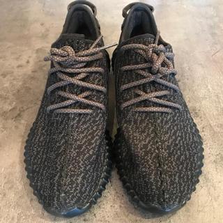 アディダス(adidas)の極美品 adidas yeezy boost 350 bb5350 Black(スニーカー)