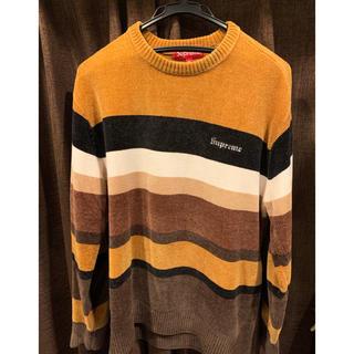シュプリーム(Supreme)のSupreme Chenille Sweater ブラウン(ニット/セーター)