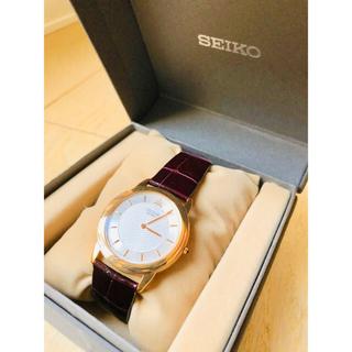 セイコー(SEIKO)の腕時計 SEIKO credor 18kt 8J80-7020(腕時計(アナログ))