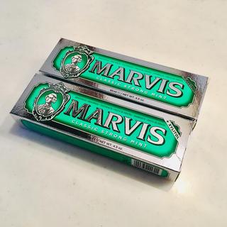 マービス(MARVIS)の【MARVIS】マービス クラシックストロングミント 85ml 2本セット(歯磨き粉)