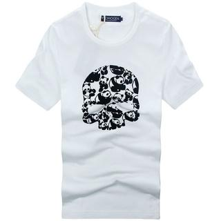 ハイドロゲン(HYDROGEN)の新入荷★正規品(1DT7318WH)ハイドロゲン メンズ半袖Tシャツ【XL】(Tシャツ/カットソー(半袖/袖なし))