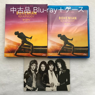 中古品 Blu-ray+純正ケース 特典付き ボヘミアンラプソディー(外国映画)