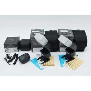 ニッシン Nissin i60A 2台とAir10s のセット ニコン用(ストロボ/照明)