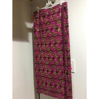 コムデギャルソン(COMME des GARCONS)のコムデギャルソン 巻きスカート(ロングスカート)