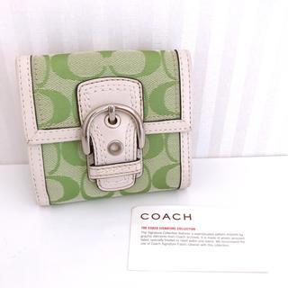 67819d4bfe5e コーチ(COACH) パスケース(グリーン・カーキ/緑色系)の通販 50点 ...